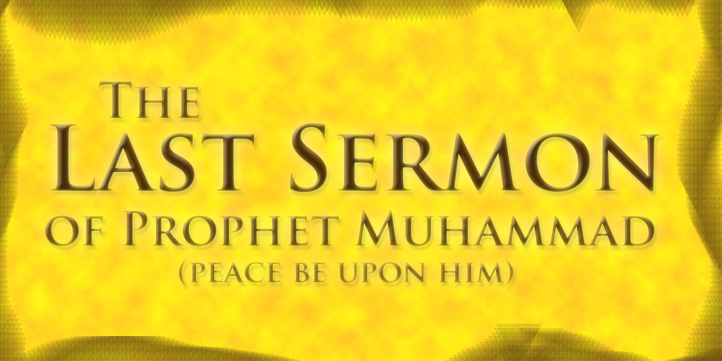 the last sermon of the holy Last sermon of holy prophet muhammad sallallahu alayhi wa sallam - duration: 7:34 mahdi ahmed 34,292 views 7:34 the neem tree (tamil) - tnpsc general english - part c - duration: 11:55.