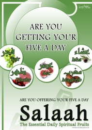 Are You Offering Your Five A Day - Prayer