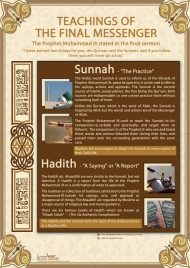 Teachings of the Final Messenger pbuh poster By Islamic Posters