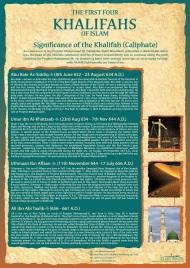 Abu Bakr (ra), Umar (ra), Uthman (ra), Ali (ra)