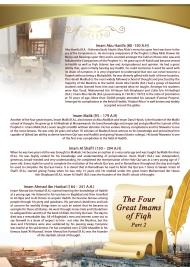 The Four Imams pt 2 - Imam Abu Hanifah, Imam Sha'fi, Imam Malik, Imam Ahmad ibn Hanbal