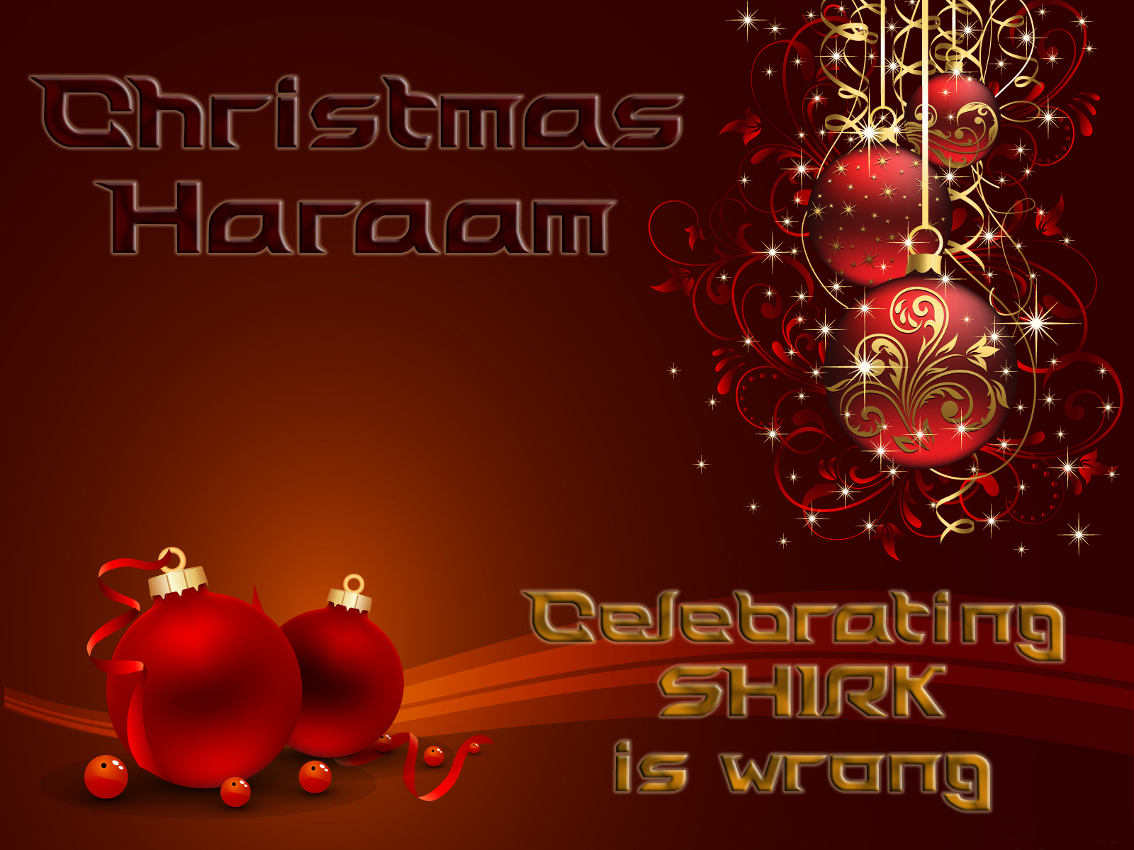 Islam Christmas.Christmas And Islam Muslims Stop Making Excuses Stand