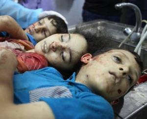 Muslim children targetted by Israel