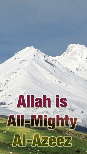 Allah is All Mighty med