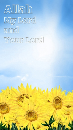 Allah is My Lord and Your Lord med