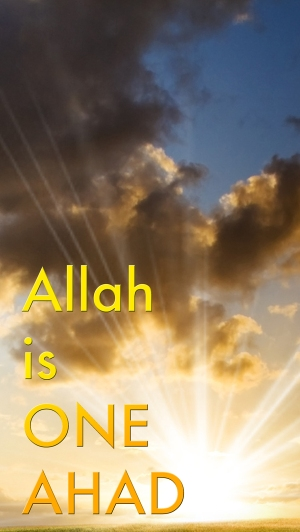 Allah is ONE med