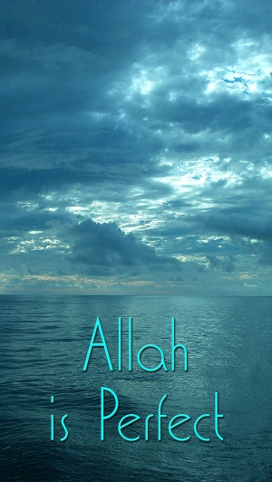 Allah is Perfect med