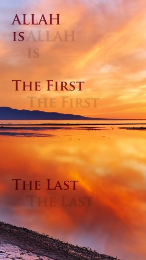 Allah is the First and the Last med