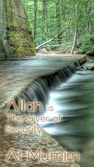 Allah is The Giver of Security med
