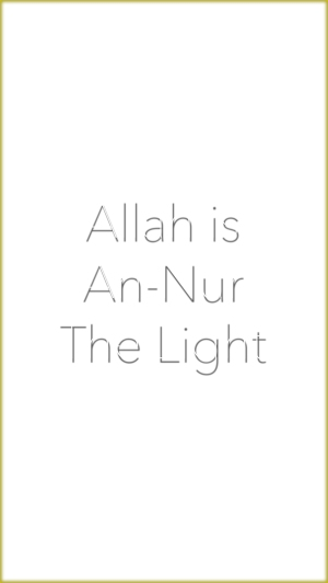 Allah is the Light med