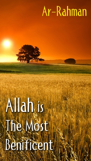 Allah is the Most Benificent med