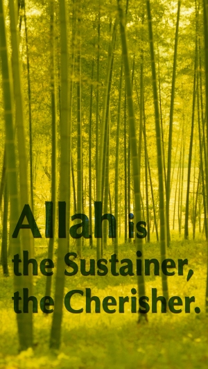Allah is the Sustainer med