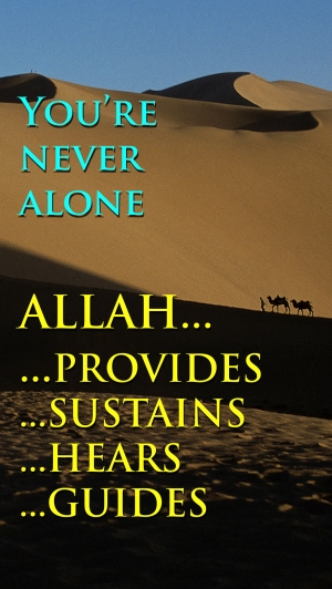 Allah Provides-Sustains med