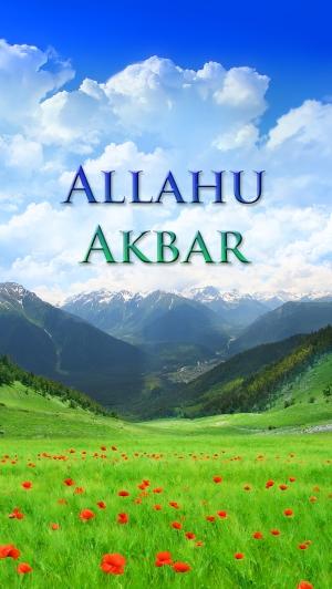 Allahu Akbar med