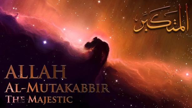 Allah is Al-Mutakabbir med