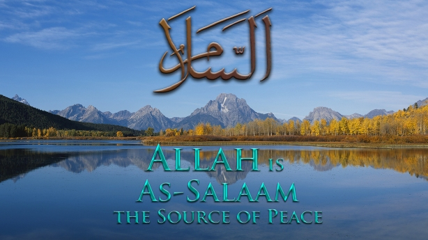 Allah is As-Salaam med