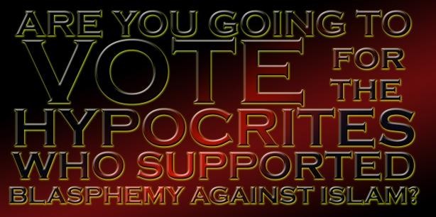 Vote hypocrite med