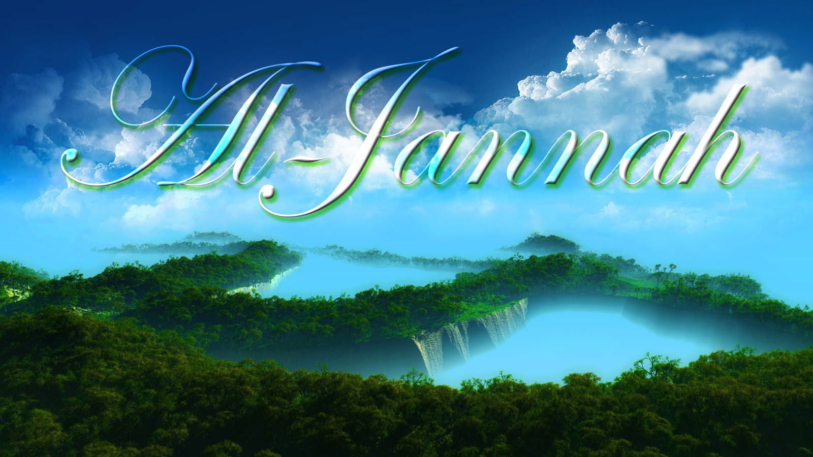 paradise islamic wallpapers - photo #1